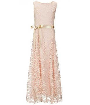 Xtraordinary Big Girls 7-16 Lace Maxi Dress