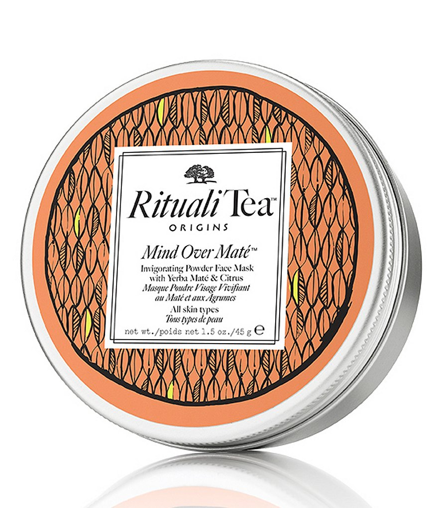 Origins RitualiTea Mind Over Mate Invigorating Powder Face Mask with Yerba Maté & Citrus