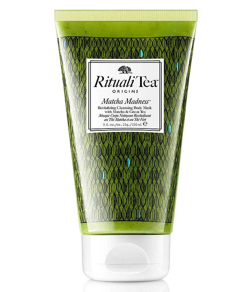 Origins RitualiTea Matcha Madness Revitalizing Cleansing Body Mask with Matcha & Green Tea