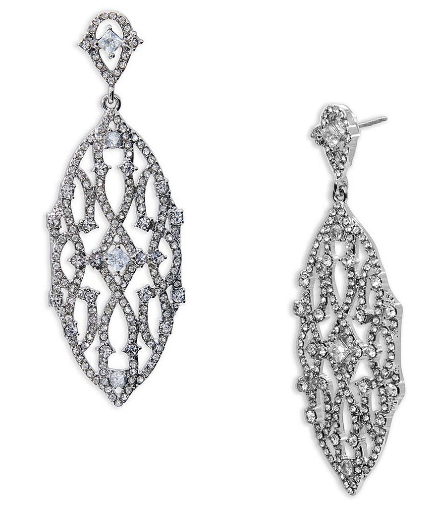 Lauren Ralph Lauren Pavé Estate Chandelier Statement Earrings