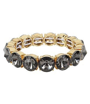 Kenneth Cole New York Faceted Stone Stretch Bracelet