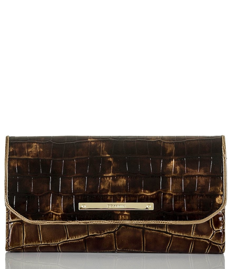 Brahmin Rouncewell Collection Soft Checkbook Wallet