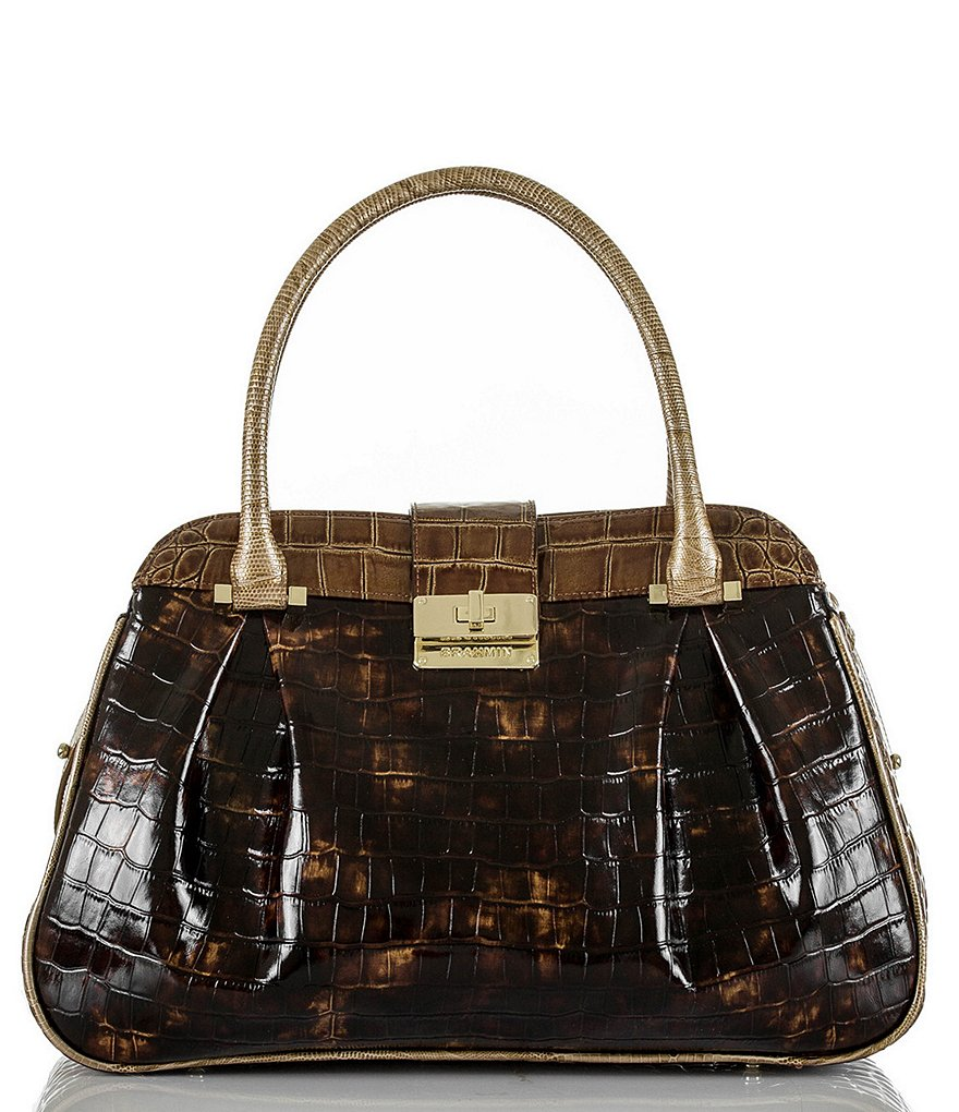 Brahmin Rouncewell Collection Laura Satchel
