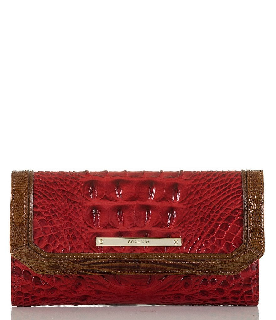 Brahmin Vernon Collection Soft Checkbook Wallet
