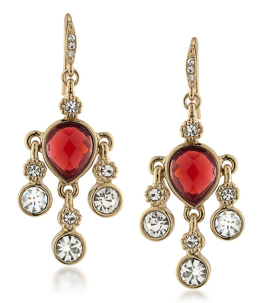 Carolee The Big Apple Mini Chandelier Earrings