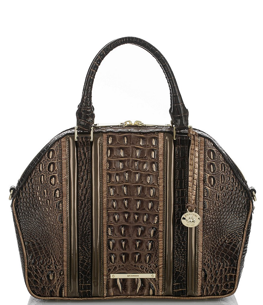 Brahmin Vestige Collection Hudson Satchel