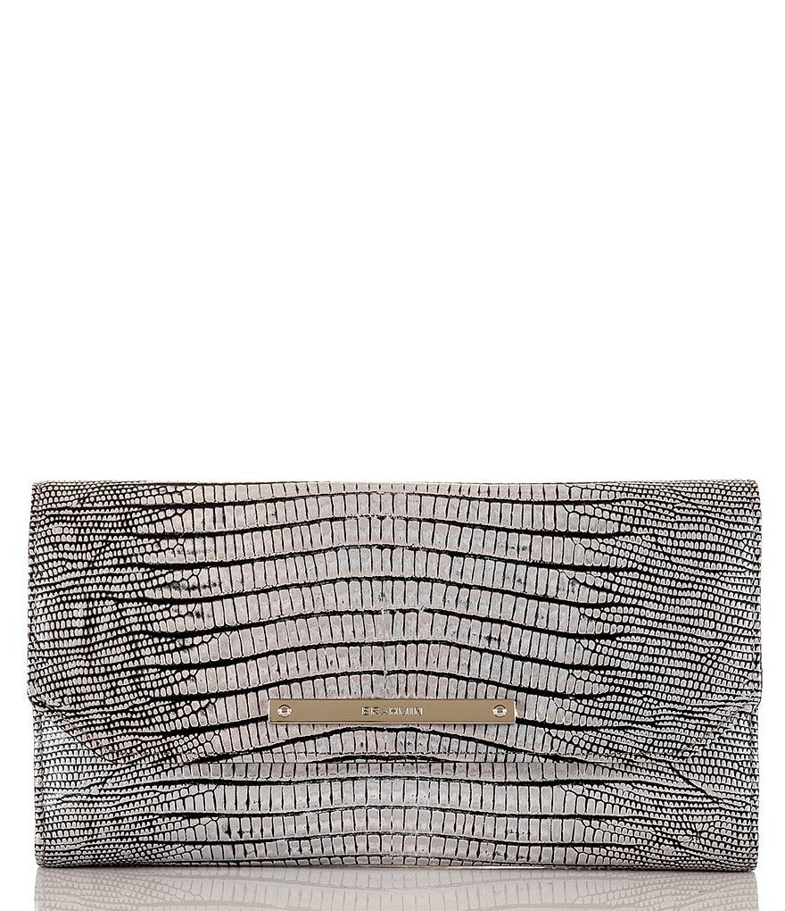 Brahmin Hardwick Collection Metallic Soft Checkbook Wallet