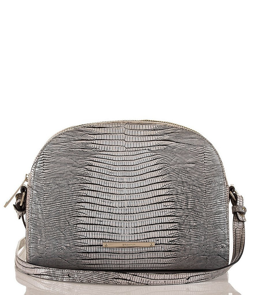 Brahmin Hardwick Collection Metallic Abby Cross-Body Bag