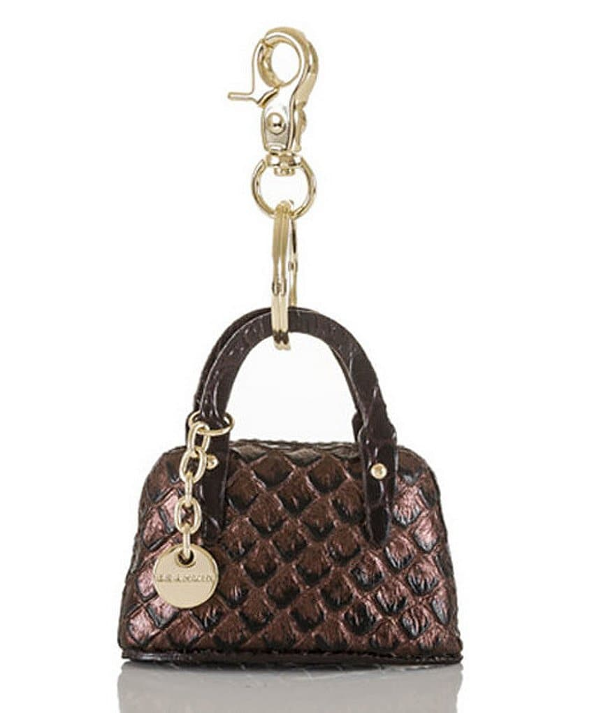 Brahmin Java Collection Handbag Key Fob