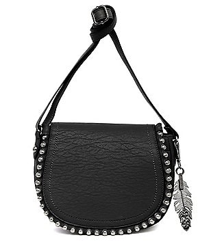 Jessica Simpson Camile Studded Saddle Bag