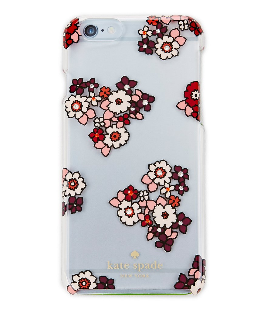 kate spade new york Jeweled Ditsy Burst iPhone 6/6s Case