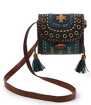 Steven by Steve Madden Tulsa Whip-Stitched Mini Saddle Bag