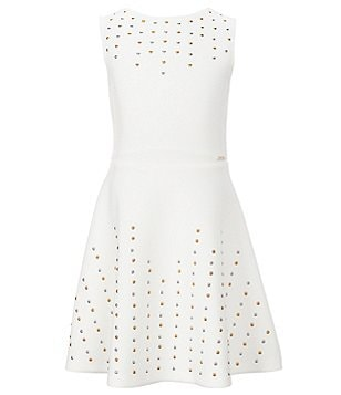 Marciano Big Girls 7-16 Studded Skater Dress