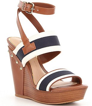 Gianni Bini Brana Nautical Wedges