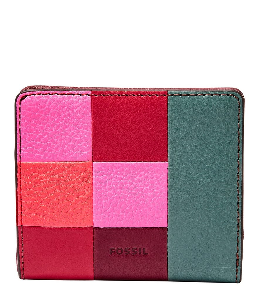 Fossil Emma Patchwork RFID Mini Wallet