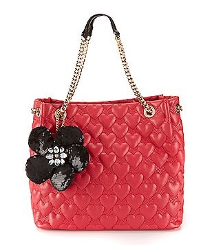 Betsey Johnson Be My Better Half North-South Tote