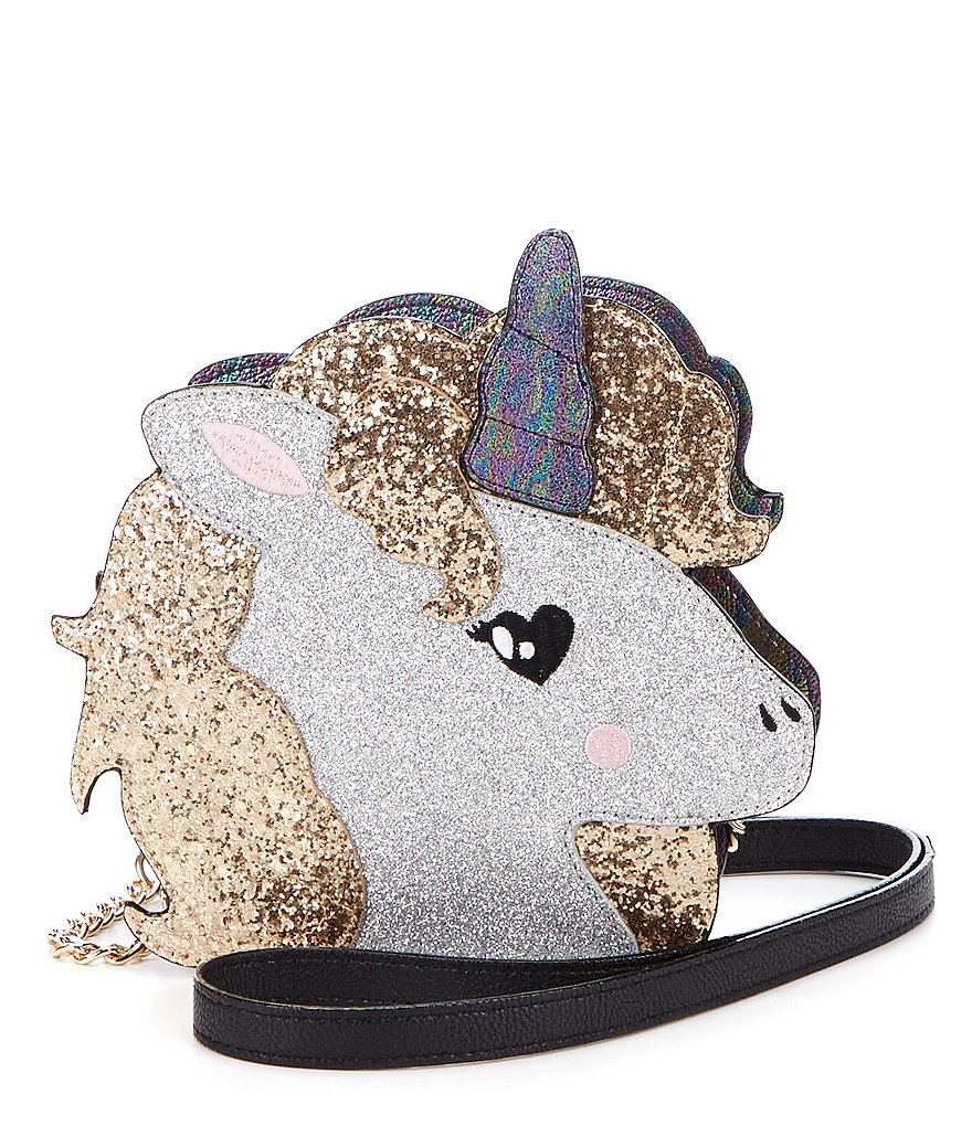 Betsey Johnson Toot Your Own Horn Unicorn Cross-Body Bag