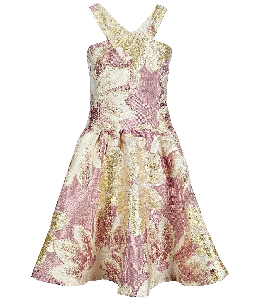 Miss Behave Big Girls 8-16 Winona Floral Dress