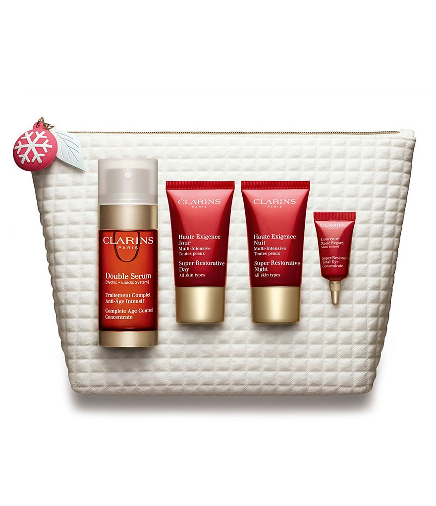 Clarins Double Serum & Super Restorative Essentials Gift Set