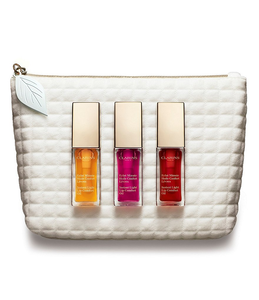 Clarins Sweet Kisses! Instant Light Lip Comfort Oil Trio