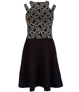 Penelope Tree Big Girls 8-14 Adrianna Double-Strap Skater Dress