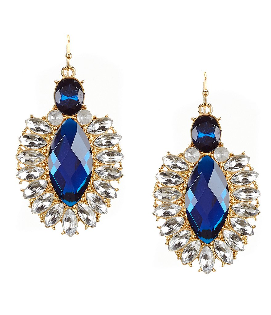 Anna & Ava Zoe Crystal Drop Earrings