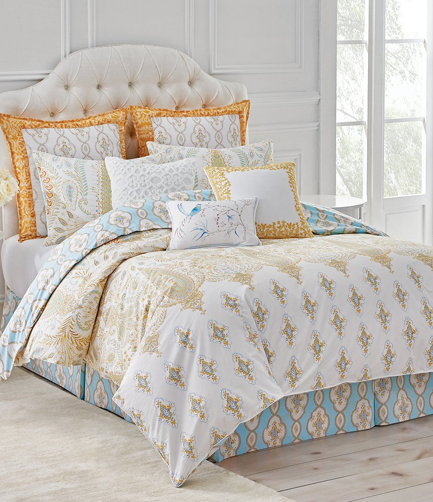 Dena Home Dream Paisley & Medallion Comforter Mini Set