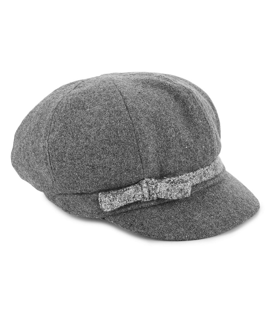 August Hats Marley Bow Newsboy Cap