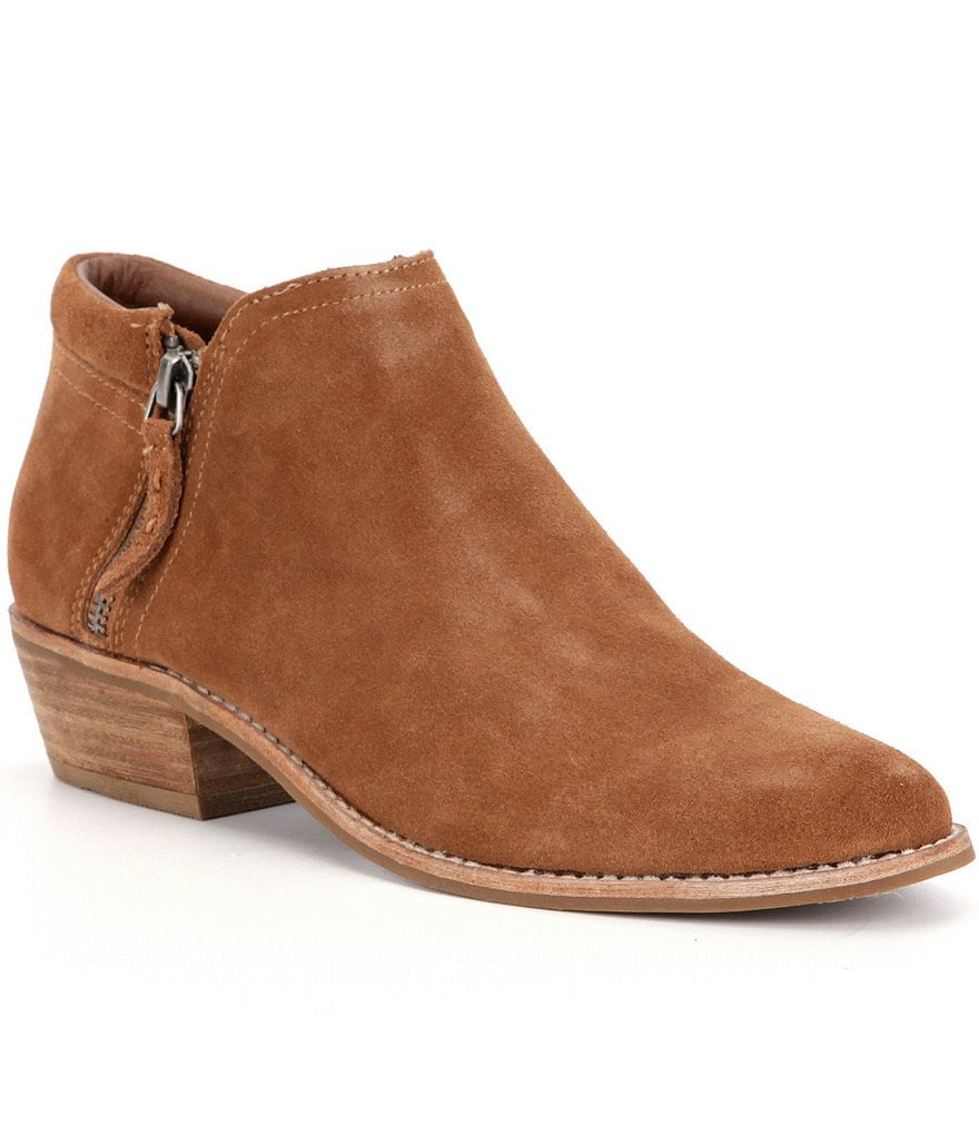 Steve Madden Tobii Suede Booties