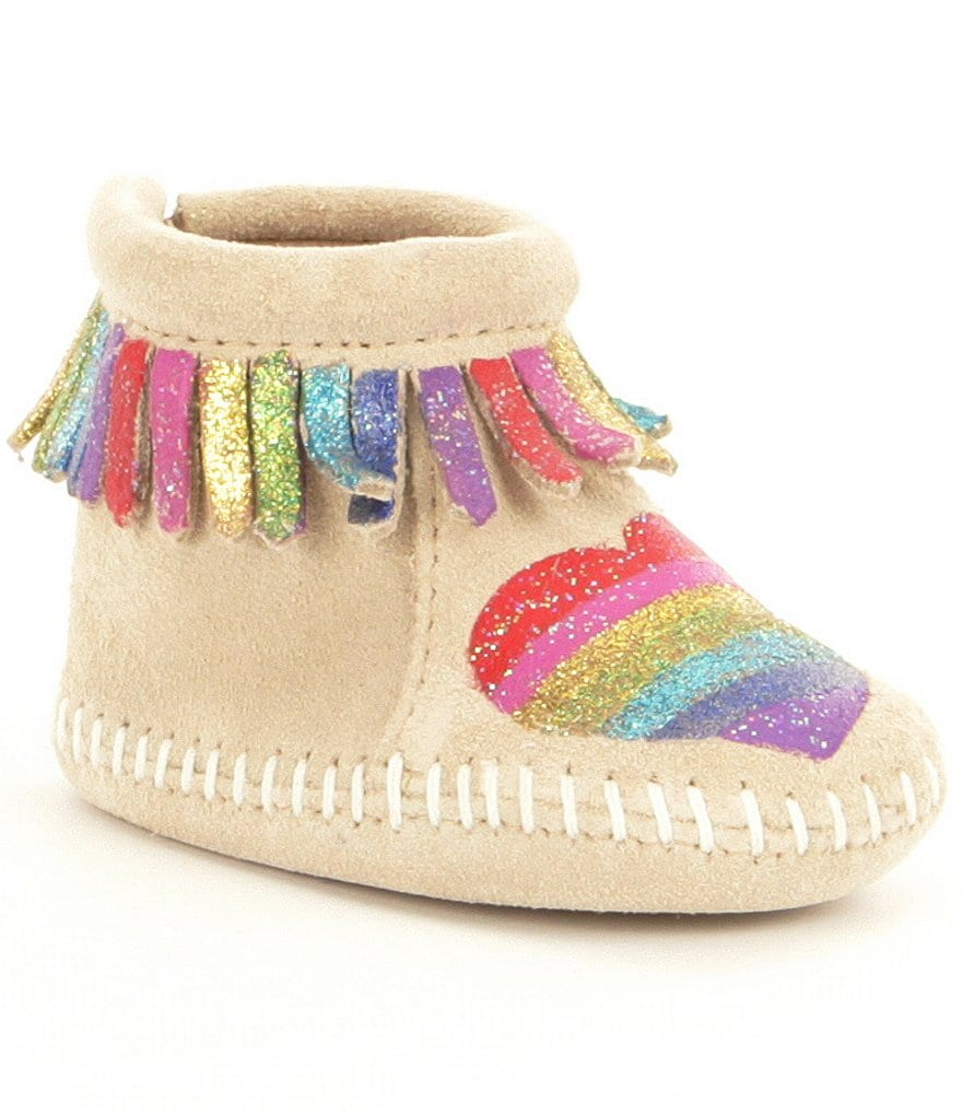 Minnetonka Girl´s Free Range Mama Love One Another Bootie