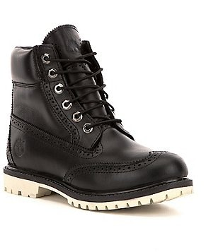 Timberland Premium Brogue Leather Waterproof Lace Up Boots