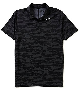 Nike Golf Icon Short-Sleeve Jacquard Polo Shirt