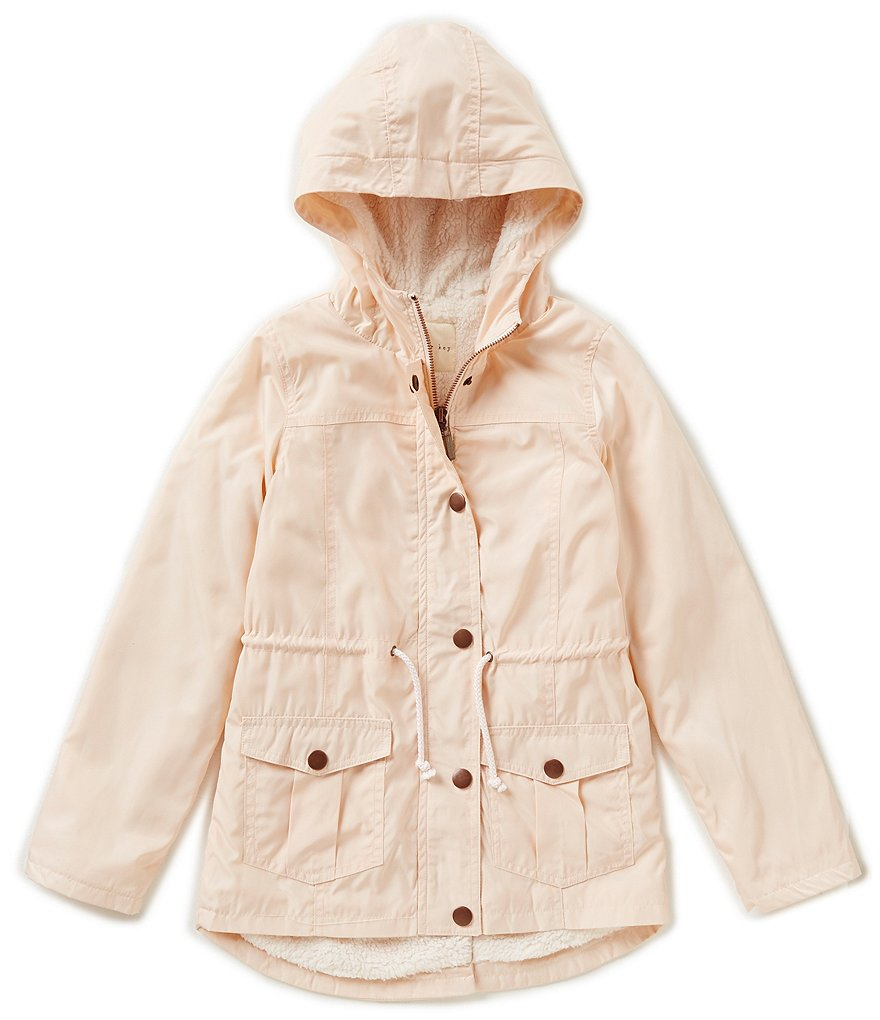 Copper Key Big Girls 7-16 Hooded Anorak Jacket