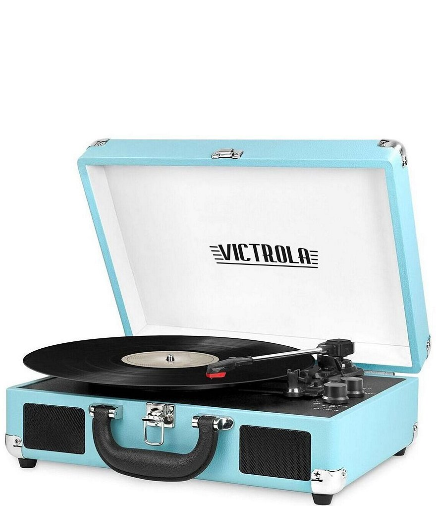 Innovative Technology Victrola Portable Bluetooth Record Player