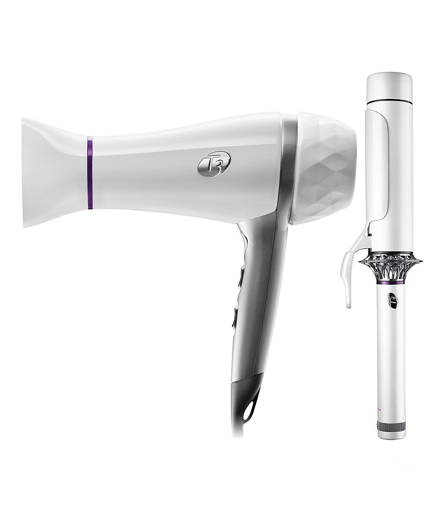 T3 Featherweight 2 Dryer & BodyWaver Curling Iron Set