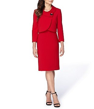 T tahari red dress dior