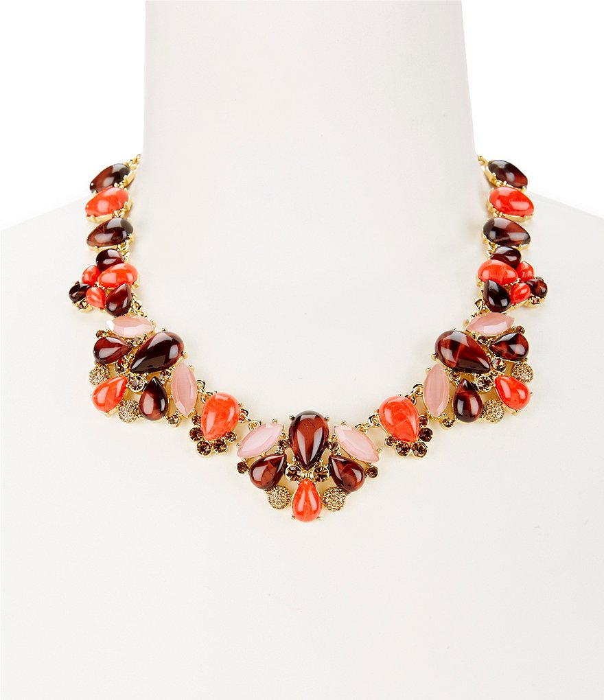 kate spade new york Burst Into Bloom Statement Necklace