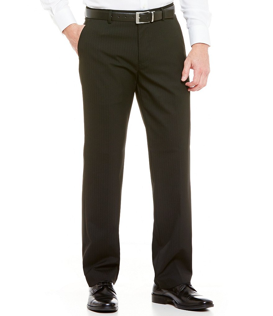 Murano Black Label Zac Modern Classic Fit Flat-Front Pants