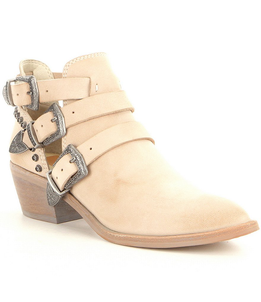 Dolce Vita Spur Multi Buckle Booties