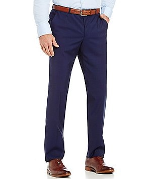 HUGO BOSS C-Shark Slim-Fit Flat-Front Solid Dress Pants