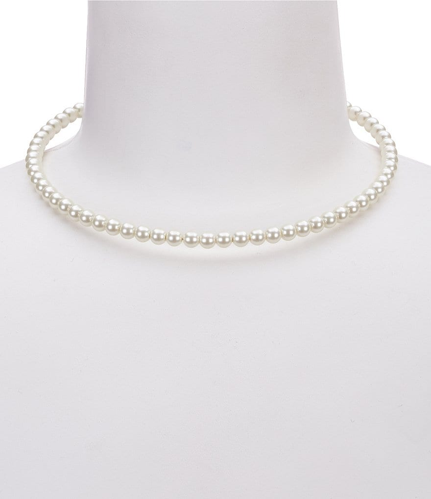 Dillard´s Tailored Faux-Pearl Collar Necklace