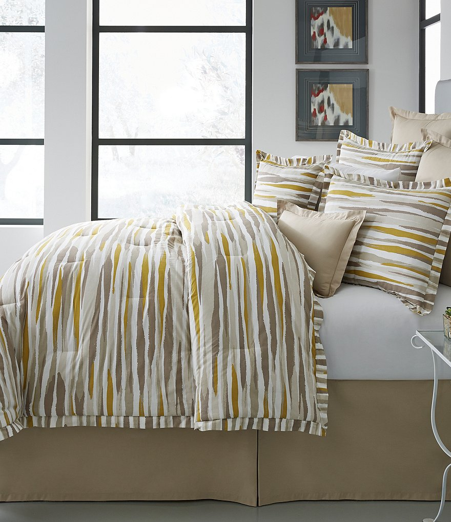 Moderne by Noble Excellence Verve Watercolor Comforter Mini Set