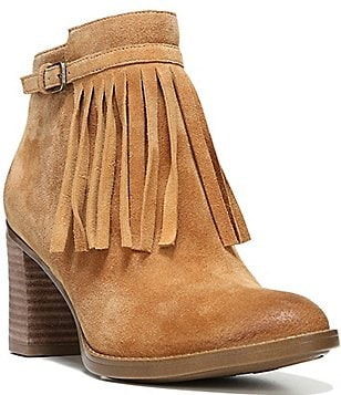 Naturalizer Fortunate Fringe Booties
