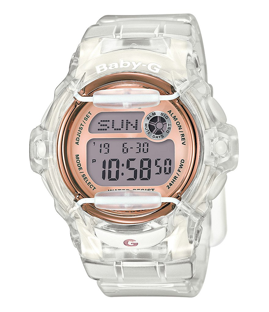 Baby-G Classic Digital Clear Jelly Watch
