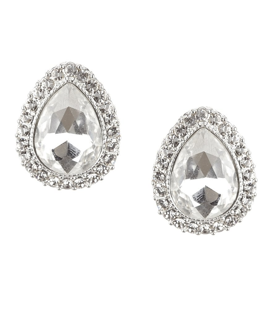 Natasha Accessories Lizzy Teardrop Earrings