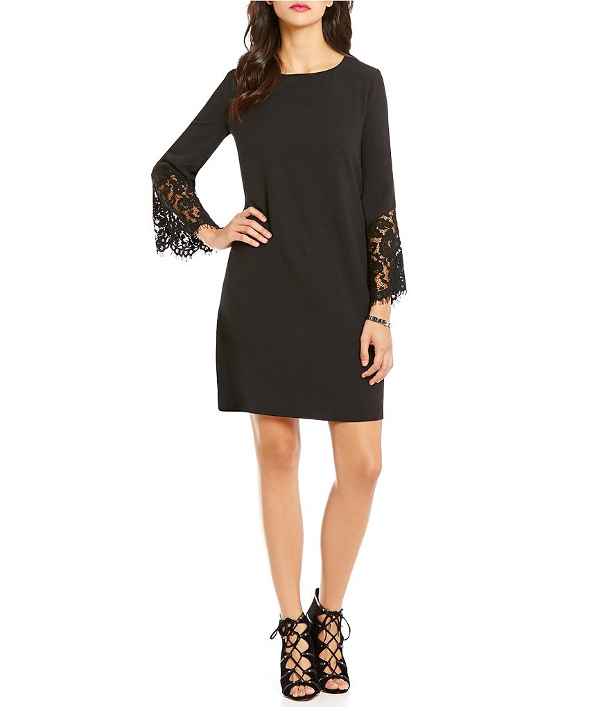 Cremieux Aria Lace Bell Sleeve Dress