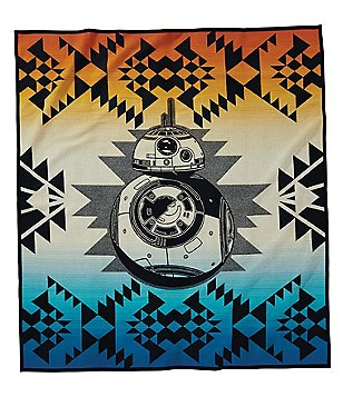 Pendleton Star Wars: The Force Awakens BB-8 Limited-Edition Wool & Cotton Throw Blanket