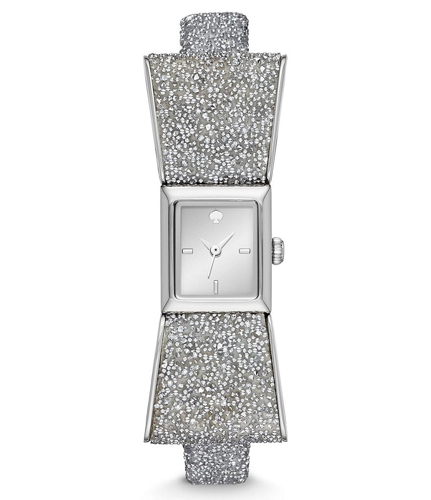 kate spade new york Kenmare Swarovski Crystal Bow Watch