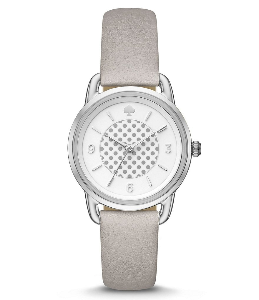kate spade new york Boathouse Leather-Strap Watch