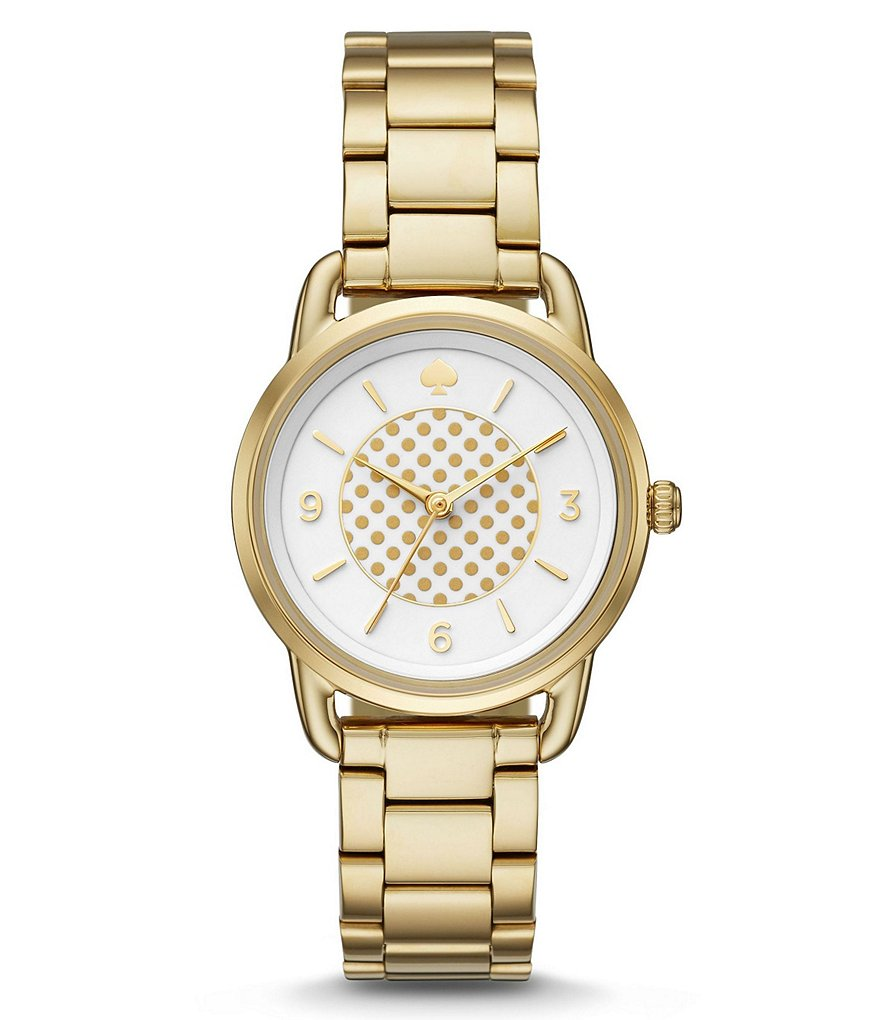 kate spade new york Boathouse Dotted Analog Bracelet Watch